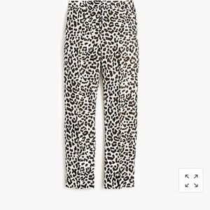 Tall Easy Pant in Leopard (Size 6T)